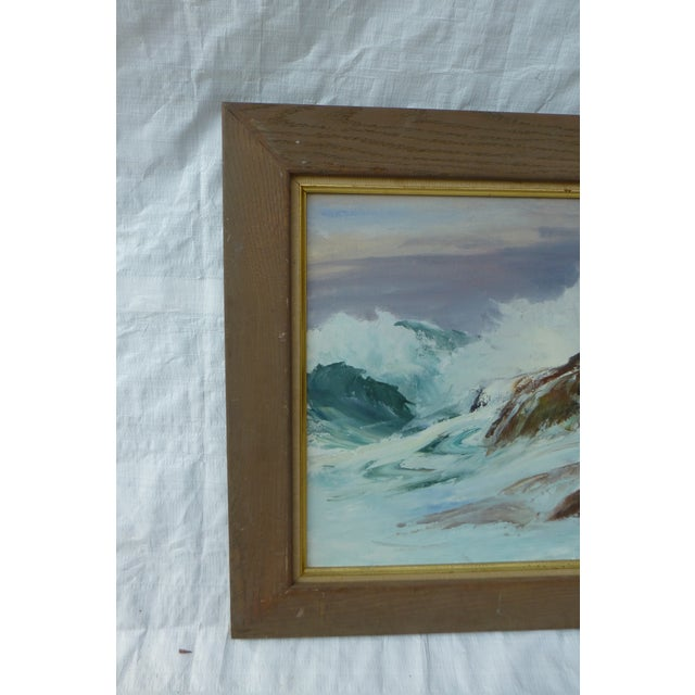 H. L. Musgrave Cape Ann Ocean Painting - Image 3 of 9