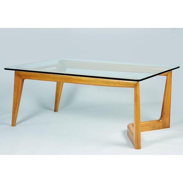 Mid-Century Modern 1950s Mid-Century Modern Pierluigi Giordani Biomorphic Dining Table For Sale - Image 3 of 13