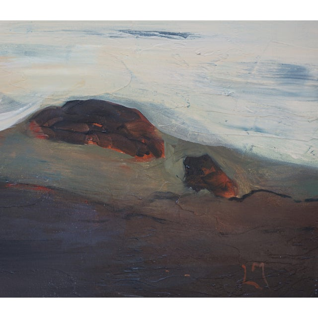 """2020s Laurie MacMillan """"Mud Season, Volcano Country"""" Landscape For Sale - Image 5 of 6"""