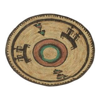 Tribal Indian Woven Basket