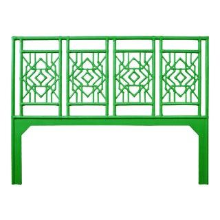 Tulum Headboard King - Bright Green For Sale