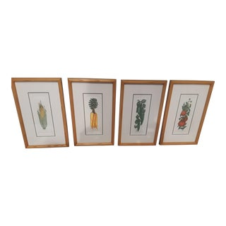 """Food Art"" Double Matted Reprints - Set of 4"