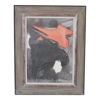 Esteban Vicente Lithograph, 1960 For Sale