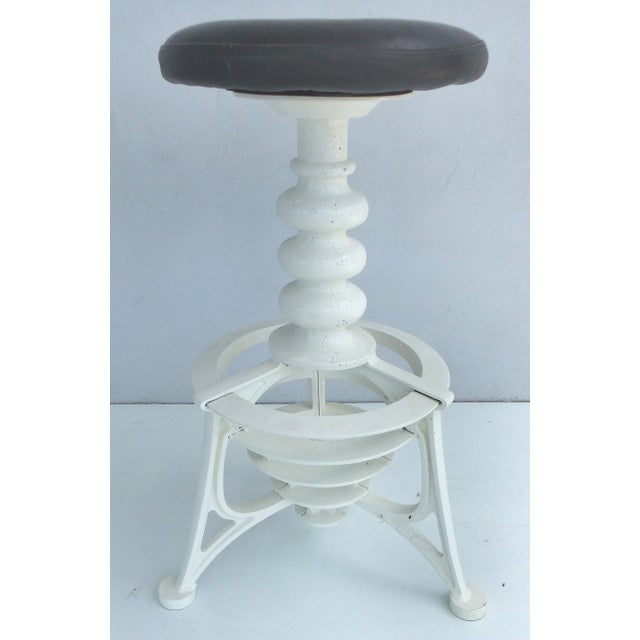 Industrial Industrial Interchangeable Tables/Stools - A Pair For Sale - Image 3 of 10