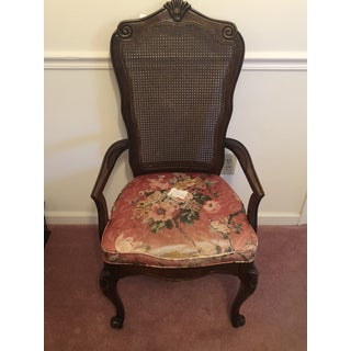 J. B Van Sciver Co Cane Back Chair Preview