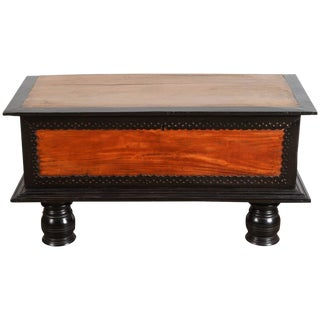 18th Century Sri Lankan Satinwood Trunk For Sale
