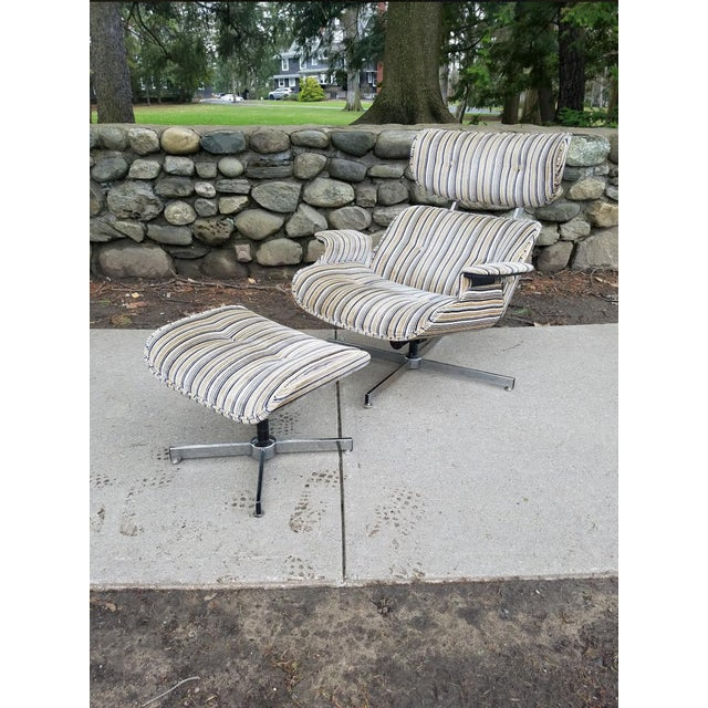 Mid Century Modern Eames Style Ooak Lounge Chair For Sale In New York - Image 6 of 6