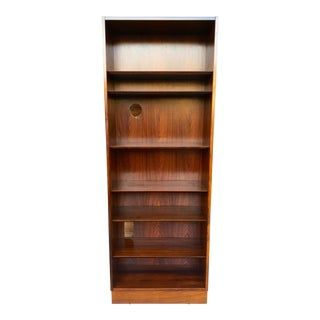 1960s Poul Hundevad Danish Modern Rosewood Bookcase