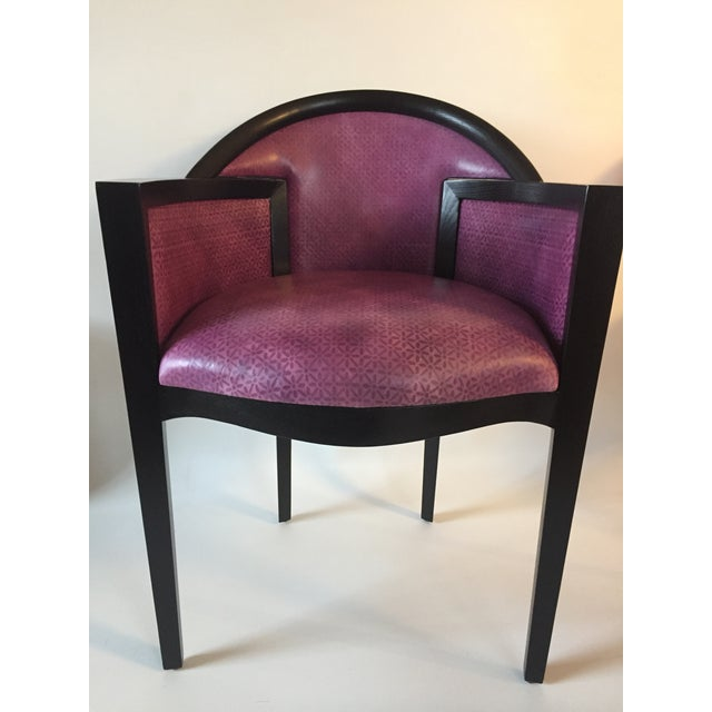 2010s Custom Art Deco Dining Chairs by Renowned Los Angeles Designer- Set of 12 For Sale - Image 5 of 9