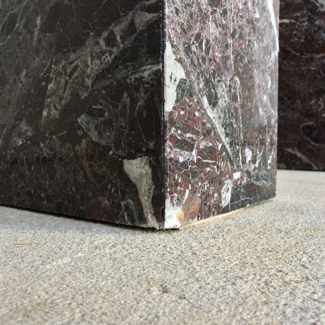 Italian Marble Dining Table Base - Image 9 of 11