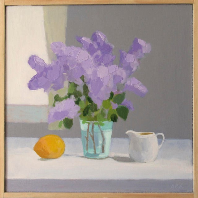 Lilac, Lemon and Creamer by Anne Carrozza Remick For Sale In Providence - Image 6 of 6