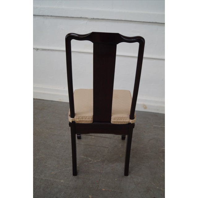 Quality Solid Chinese Rosewood Dining Chairs - 8 - Image 4 of 10