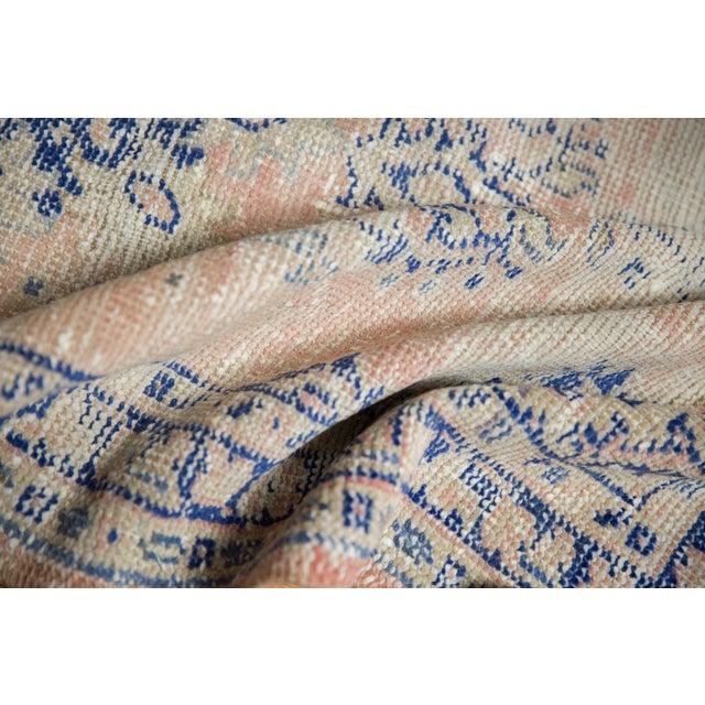 "Boho Chic Vintage Distressed Oushak Rug Runner - 2'7"" X 4'9"" For Sale - Image 3 of 12"
