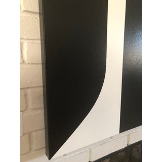 Large Modern Black & White Painting by Tony Curry Preview