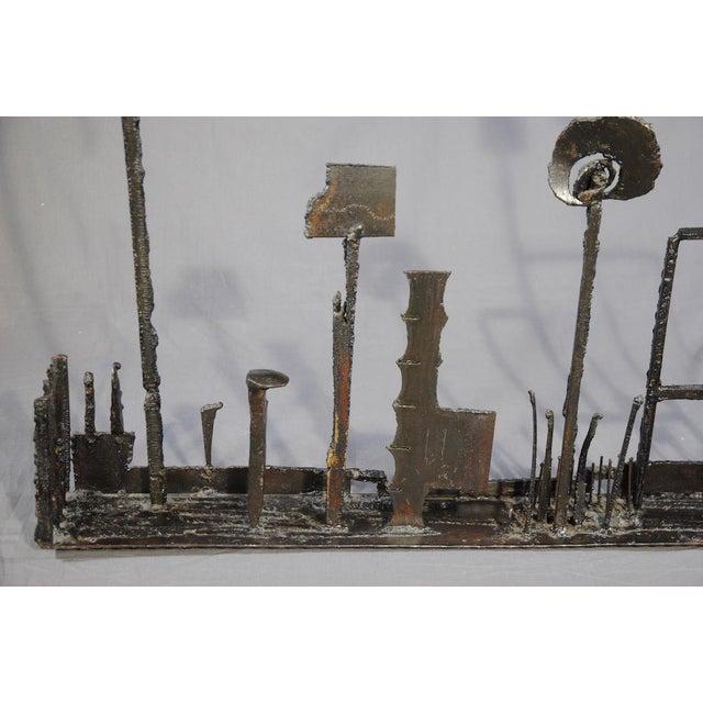 1960's Brutalist Welded Steel Sculpture For Sale In San Francisco - Image 6 of 9