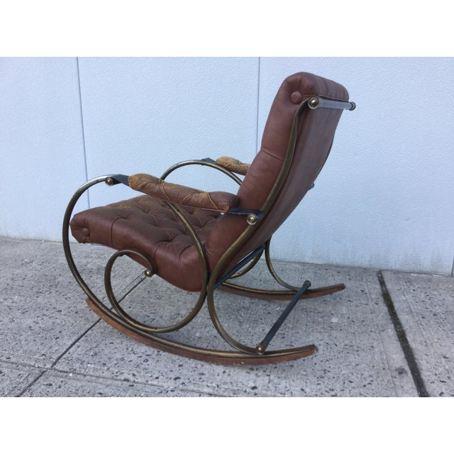 1960's Lee Woodard and Sons Rocking Chair - Image 5 of 11