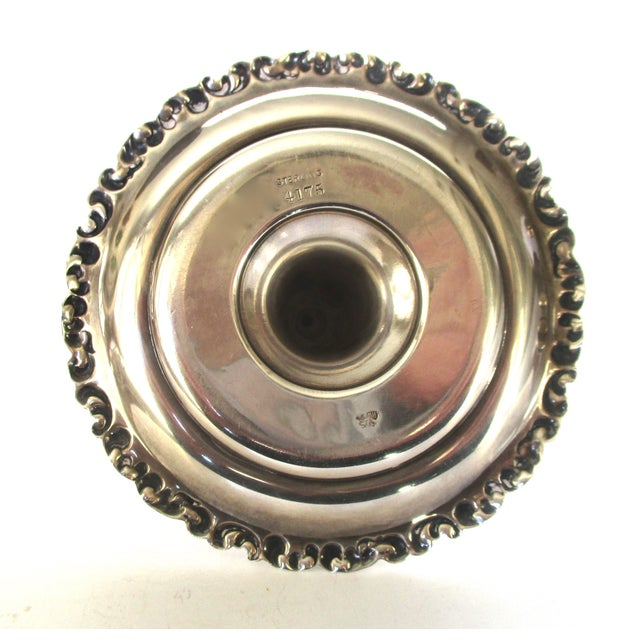 Vintage Sterling Ring Holder - Image 6 of 8