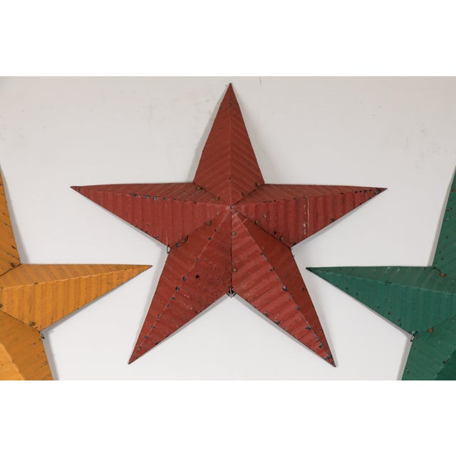 Large Amish Barn Stars For Sale In Los Angeles - Image 6 of 8
