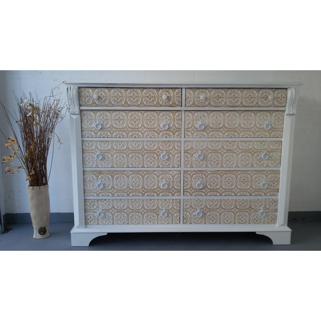 Pennsylvania House 10-Drawer Dresser - Image 6 of 10