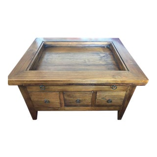 Teak Coffee Table / Chest