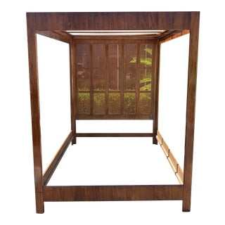 Queen Size Canopy Bed by Drexel Heritage For Sale