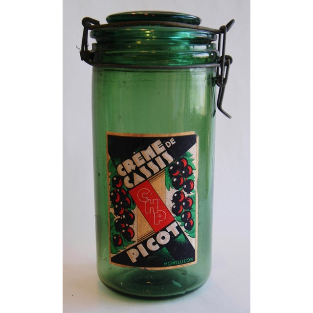 French 1930s Canning Preserve Jars - Set of 3 - Image 7 of 8