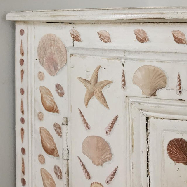 White 19th Century Swedish Painted Corner Cabinet For Sale - Image 8 of 13