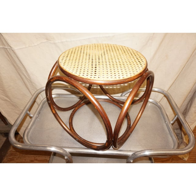 Michael Thonet Secessionist-Style Stool - Image 3 of 4