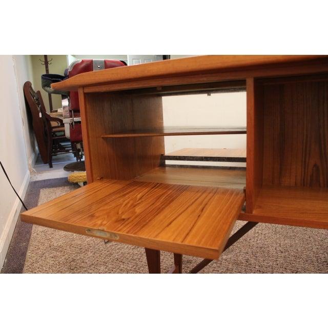 Peter Lovig Nielson Danish Modern Boomerang Desk - Image 8 of 11