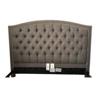King Sized Upholstered Headboard For Sale