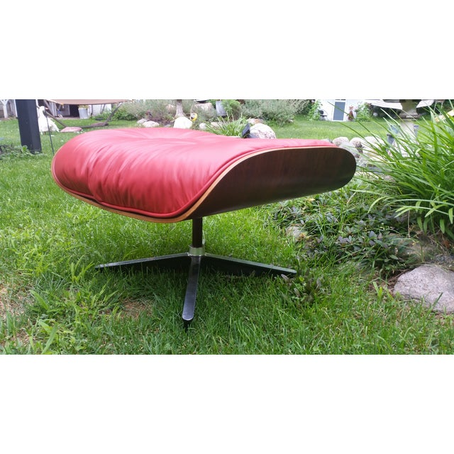 Eames Rosewood ES 671 Ottoman - Image 2 of 3
