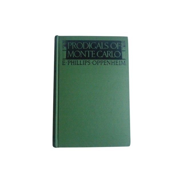 Prodigals of Monte Carlo, Vintage 1920s Book - Image 1 of 3