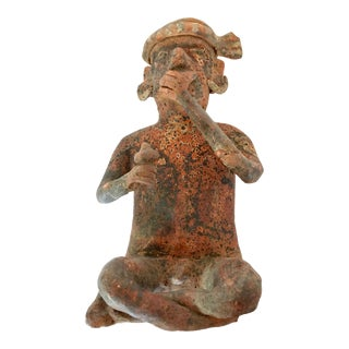 Pre-Columbian Narayit Seated Figure For Sale