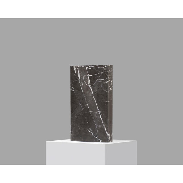 Doric marble table lamp by Carlos Aucejo Dimensions: 44 x 25.5 x 9 cm (Exists also in large version 58 x 33.6 x 11.8 cm)...