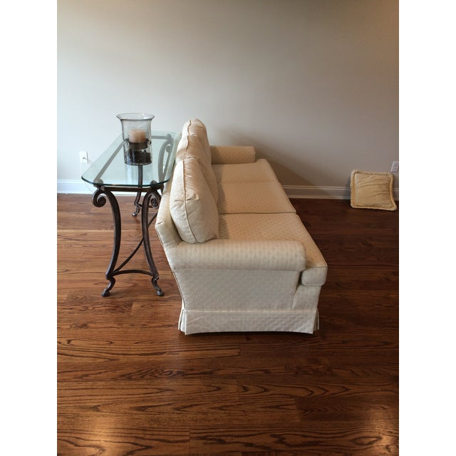 Traditional Transitional Sofa For Sale - Image 3 of 4