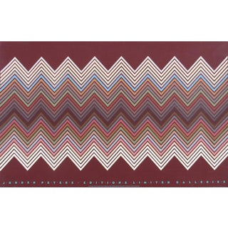 "Jurgen Peters, ""Editions Limited Galleries Exhibition"", Screenprint Op Art Poster For Sale"
