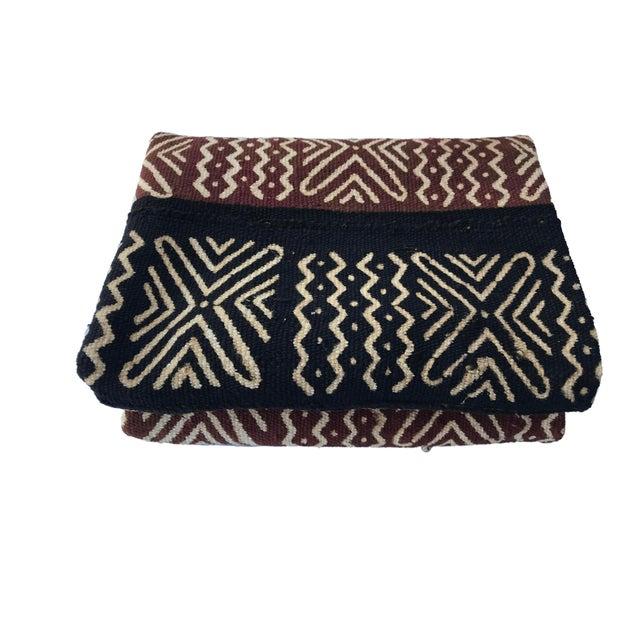 Textile Bogolan Mali Mud Cloth Textile For Sale - Image 7 of 8
