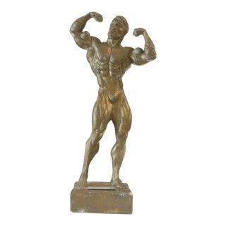 Niels Andersen Muscle Man Trophy For Sale