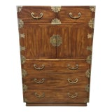 Image of 1970s Japanese Henredon Tansu Style Armoire/Dresser For Sale