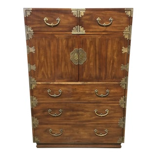 1970s Japanese Henredon Tansu Style Armoire/Dresser For Sale