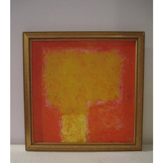 Abstract Painting Paris Signed Framed Acrylic - Image 3 of 11