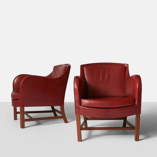 Pair of Kaare Klint Mix Chairs For Sale - Image 9 of 9