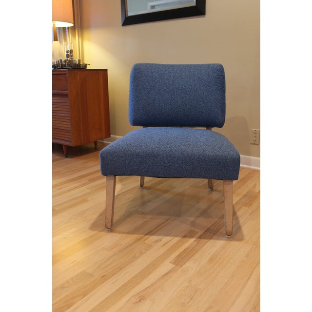 Vintage Mid-Century Modern Slipper Chair - Image 2 of 5