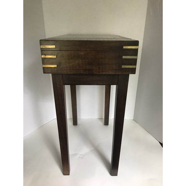 Petite Storage Side Table - Image 4 of 7