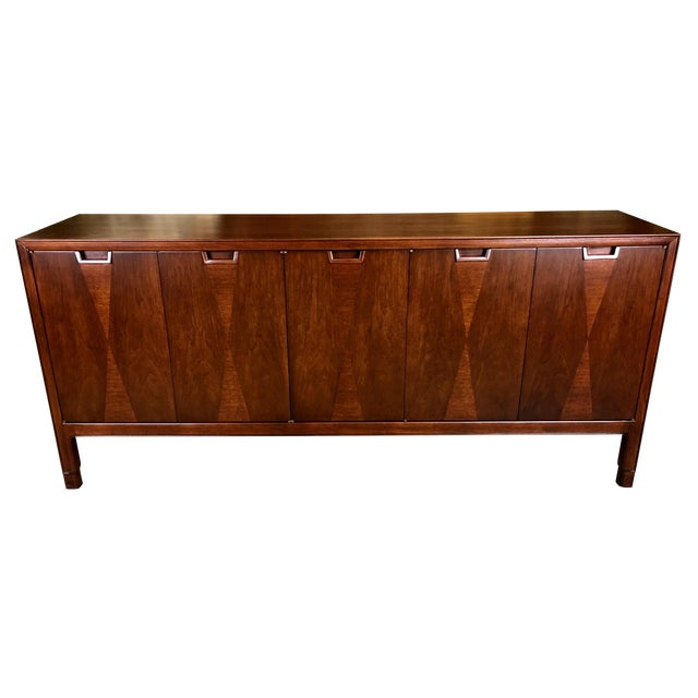 Fine Diamond Front Credenza by John Stuart-NY - Image 1 of 7