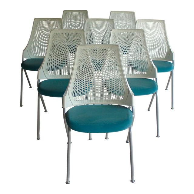 Yves Béhar for Herman Miller Sayl Chairs - Set of 8 | Chairish