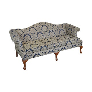Ethan Allen Chippendale Style Ball & Claw Traditional Sofa For Sale