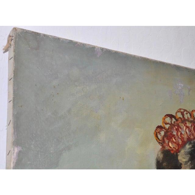 """Matador and the Señorita"" Oil on Canvas - Image 4 of 10"