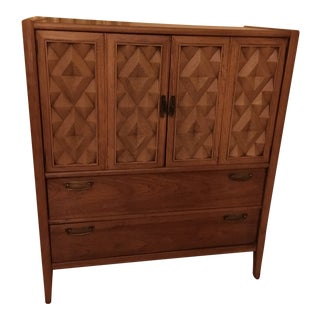 Broyhill Mid-Century Modern Armoire For Sale