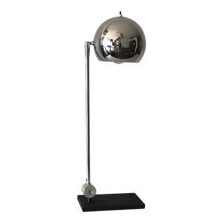 Mid-Century Vintage Sonneman for Kovacs Adjustable Eyeball Lamp For Sale